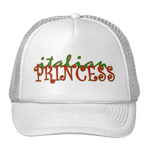 Princesa italiana gorra