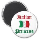 Princesa italiana imán para frigorifico