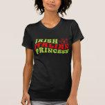 Princesa italiana irlandesa tshirts