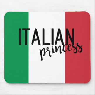 Princesa italiana mouse pad