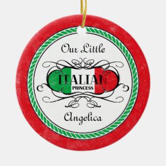 Princesa italiana Photo Ornament Ornato