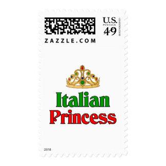 Princesa italiana sello