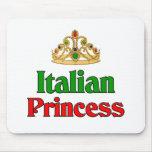 Princesa italiana tapete de raton