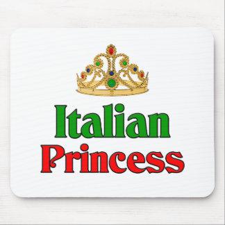 Princesa italiana tapetes de ratón