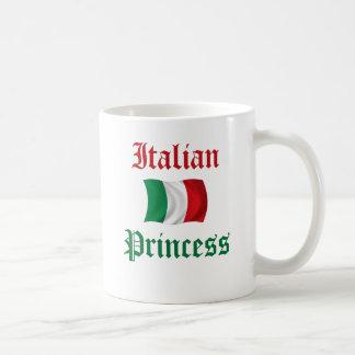 Princesa italiana taza de café