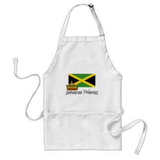 Princesa jamaicana delantal