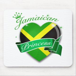 Princesa jamaicana alfombrillas de raton