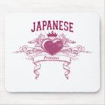 Princesa japonesa alfombrilla de raton
