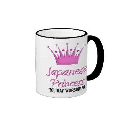 Princesa japonesa tazas
