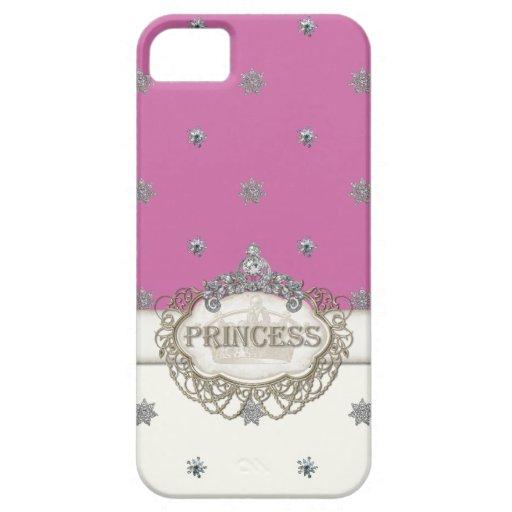 Princesa Jewel Bling Crown Personalized de Iphone iPhone 5 Carcasa