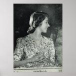 Princesa joven Elizabeth Poster