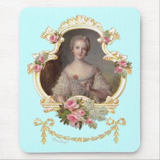 Princesa joven Louise Marie de Francia Mousepad Alfombrilla De Raton