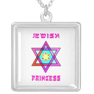 Princesa judía colgante cuadrado