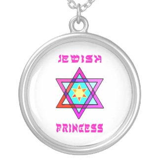 Princesa judía colgante redondo