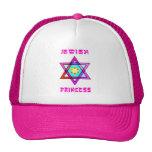 Princesa judía gorros bordados