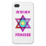 Princesa judía iPhone 4/4S carcasas