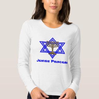 Princesa judía Ladies T-Shirt Playeras