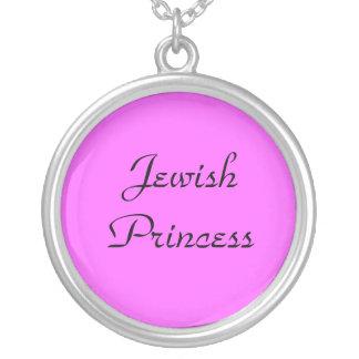 Princesa judía Necklace Collar Plateado