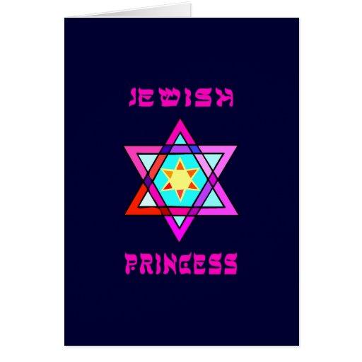 Princesa judía tarjeton