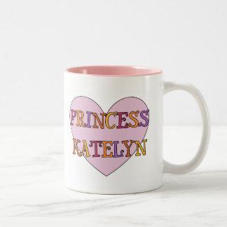 Princesa Katelyn Mug Taza De Dos Tonos
