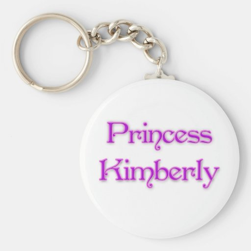 Princesa Kimberly Llavero Personalizado
