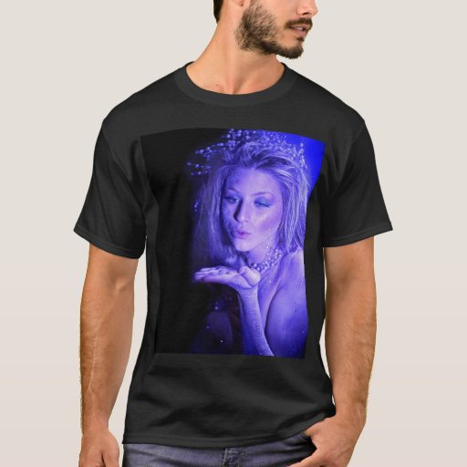 Princesa Kiss - la camiseta del hielo de los