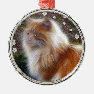 Princesa Kitty Ornament Adorno Navideño Redondo De Metal