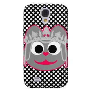 Princesa Kitty Pink - gris Funda Para Galaxy S4