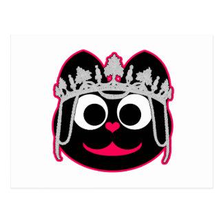 Princesa Kitty Tarjeta Postal