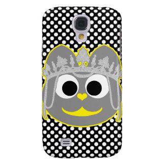 Princesa Kitty Yellow - gris Funda Para Galaxy S4