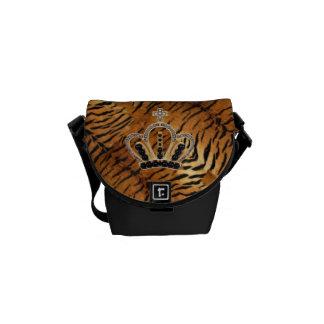 Princesa la bolsa de mensajero del tigre bolsa messenger