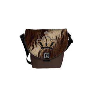 Princesa la bolsa de mensajero del tigre bolsa de mensajería