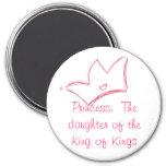 Princesa:  La hija del rey de reyes Imán Redondo 7 Cm
