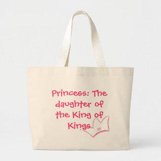 Princesa: La hija del rey del tote de los reyes Bolsas De Mano