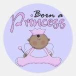 Princesa Lavender T-shirts y regalos del bebé Pegatina