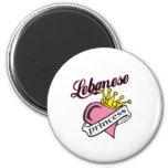 Princesa libanesa imán para frigorifico