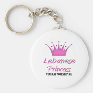 Princesa libanesa llavero personalizado