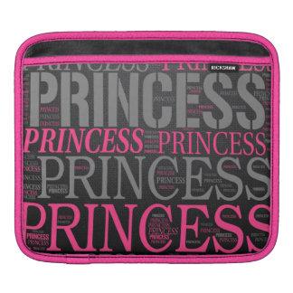 Princesa linda Wordart Manga De iPad