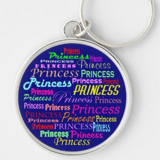 Princesa llavero multicolor