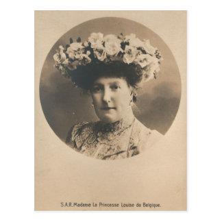 Princesa Louise de Bélgica #085B Tarjeta Postal