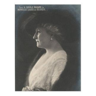 Princesa Louise de Bélgica #089B Postales
