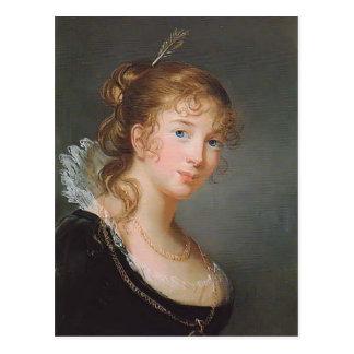 Princesa Louise de Louise Elisabeth Brun- de Prusi Tarjeta Postal