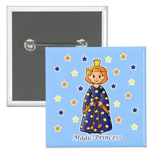 Princesa mágica pins