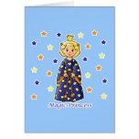 Princesa mágica tarjeta