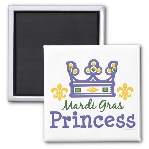 Princesa Magnet del carnaval Imán