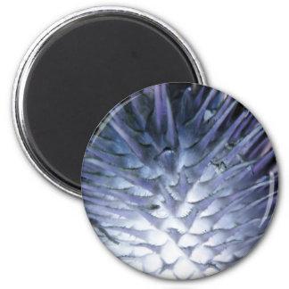 Princesa Magnet del hielo de la hierba salvaje Imán Redondo 5 Cm