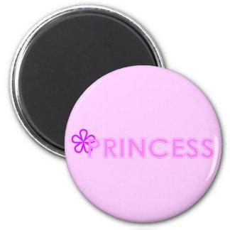 Princesa Magnet Imán Redondo 5 Cm