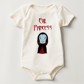 Princesa malvada body para bebé