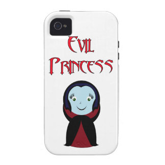 Princesa malvada carcasa Case-Mate para iPhone 4