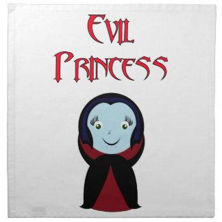 Princesa malvada servilletas de papel